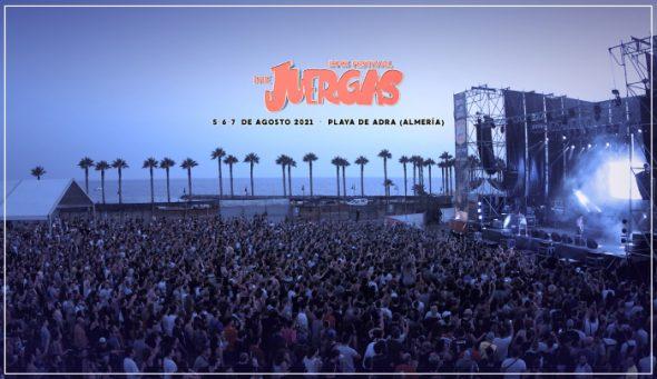 The Juergas Rock Festival @ Playa de Adra (Almería)
