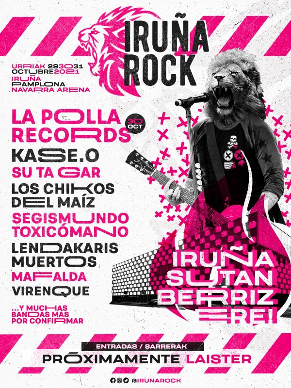 Iruña Rock @ Navarra Arena. Pamplona